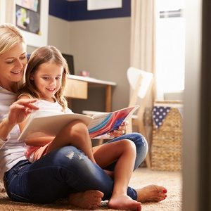 What A Difference Five Minutes Reading With Your Child Will Make…